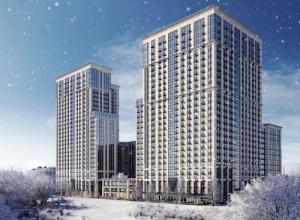 Квартал премиум-класса «Матч Поинт» от Галс Апартаменты до 130 м²